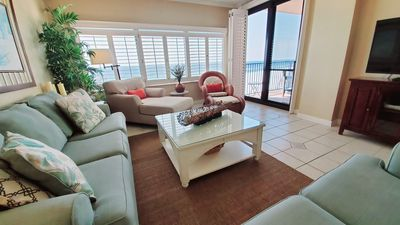 Photo for A Private Fishing Pier! Expansive Direct Gulf View - Beachfront - Pools - WIFI