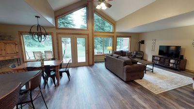 Photo for Fronting the Birch Golf Course - Wheelchair Accessible. WiFi. Fire Pit.