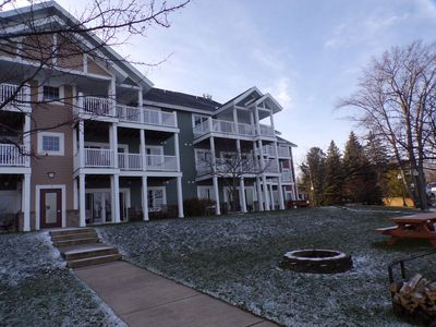 Photo for Waterfront Condo w/ Clubhouse  on beautiful Lake Cadillac!
