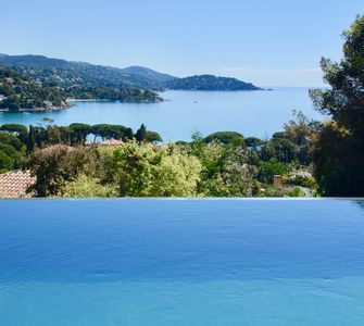 Photo for Villa SEASIDE - contemporary house with pool - beach of St Clair - LAVANDOU