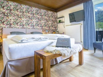 Photo for Standard Double Room with Balcony - Olympia Hotel Garni
