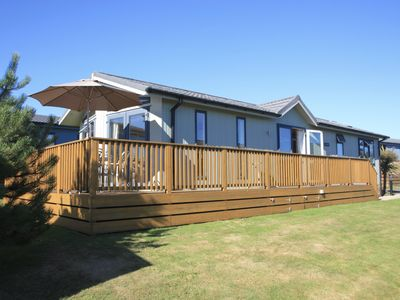 Photo for Luxury Lodge in Soar, Nr Salcombe, Devon, England