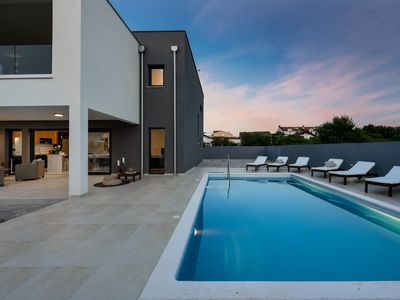 Photo for Modern Villa Roko, in Nin, with a Pool