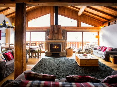 Photo for Spacious renovated chalet in the heart of the Upper Tarentaise