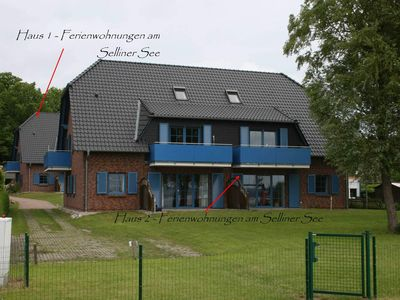 Photo for House 1 Fewo 02 Am Selliner See with terrace - A: Apartment 02 Am Selliner See