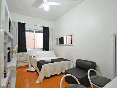 Photo for Quite apartment with class and comfort, 4min walking to beach/ Wifi+Cable TV+Air