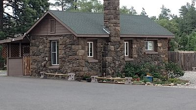 Photo for Cozy Private Cabin Within Flagstaff City Limits~Freestanding Guesthouse
