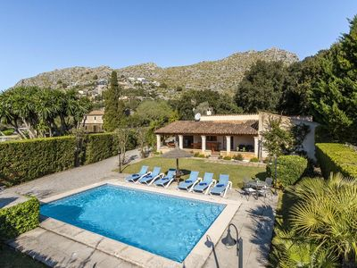 Photo for Finca Jeronima, holiday home, private pool, quiet area, A / C, WIFI, 3 bedrooms.