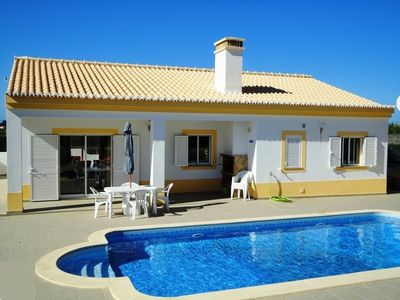 Photo for Modern villa, quiet, private pool, close to the sea, in a nature reserve, 6 beds