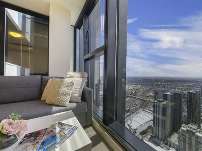 Photo for A Cozy CBD Apartment with the Best City Views