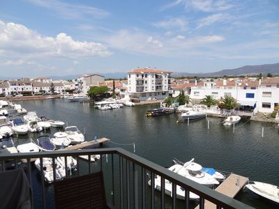 Photo for Spain - costa brava - beautiful apartment near sea and view of canals and mountains