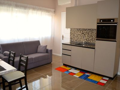 Photo for Charming, brand-new appartment in San Pietro, 2 bedrooms & 2 bathrooms