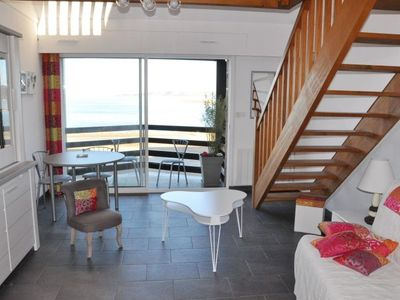 Photo for Apartment beautiful sea view 3 stars in PERROS-GUIREC