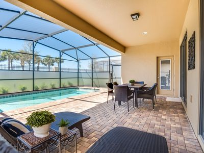 Photo for Brand new 6 BR / 5.5 BA home with private pool minutes from Disney!