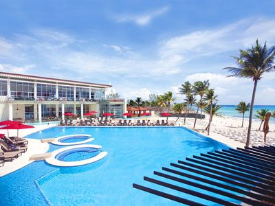 Photo for The Azul Fives hotel/condo on the beach located in Playa del Carmen, Mexic