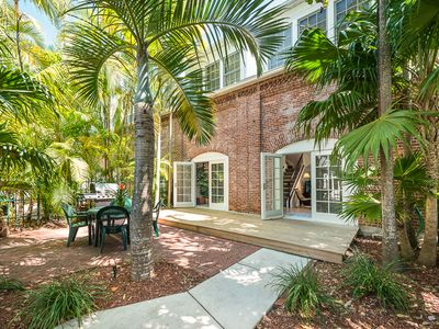 Photo for Truman Annex - ' Island Queen' End Unit Villa is One of a Kind!