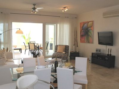 Photo for Beachfront 2bd 2bth condo in luxury sea-views paradise, steps from all shops