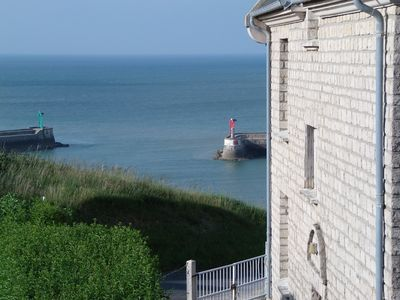 Photo for Gite,sea view,all comforts, garden, 2 bedrooms for 4 people close to Omaha Beach