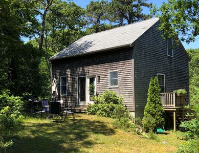 Photo for Casa Chica is a charming cottage, nestled in the woods. Think beach or R & R!