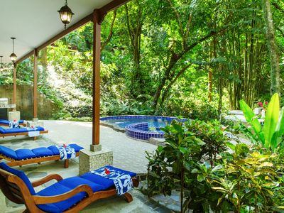 Photo for Beautiful Rainforest Home with Private Pool