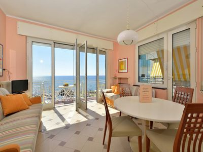 Photo for Two-Room Apartment directly on the sea with private beach
