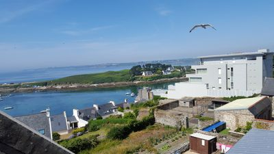 Photo for PROMO -20% from 28 to 04/18/18 Apartment with view on the Kermorvan peninsula