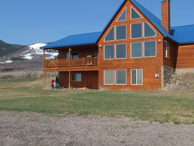 Photo for 4 Bedroom Bear Lake Cabin With Private Beach Access