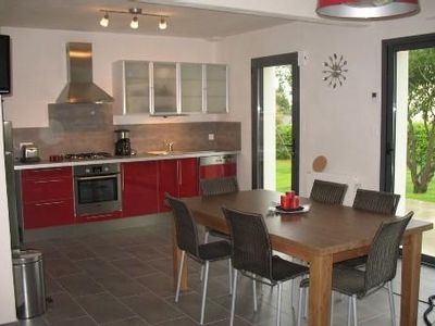 Photo for South Brittany, close to Vannes, beautiful new cottage , by the sea and quiet