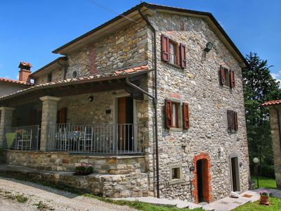 Photo for Holiday home  typical Tuscan,near the house where Michelangelo's parents lived