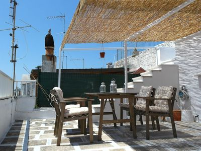 Photo for Ostuni historic stone house with rooftop terrace. Stay here, feel like a local.
