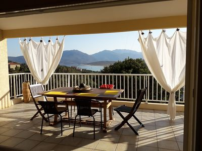 Photo for Stunning villa south Corsica Campomoro seaside 700 m from the beach.