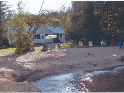 Photo for Two homes with Private Beach and docks on Squam Lake