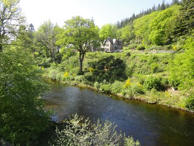 Overlooking River Garry