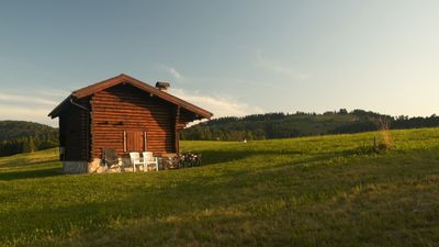 Photo for Chalet / Chalet surrounded by greenery, close to bike trails (MTB)