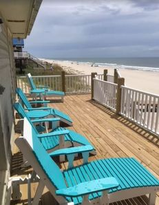 Photo for Adorable 2 BR Beachfront Cottage AND Pet Friendly!