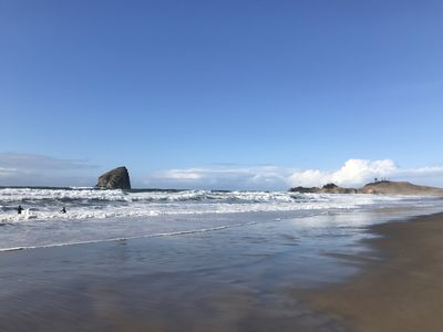 Photo for New contemporary ocean front home in Pacific City