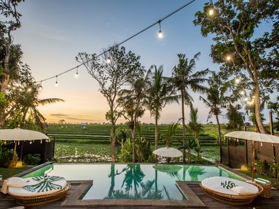 Photo for Outstanding Villas Complex, 9 BR, Canggu w/ staff
