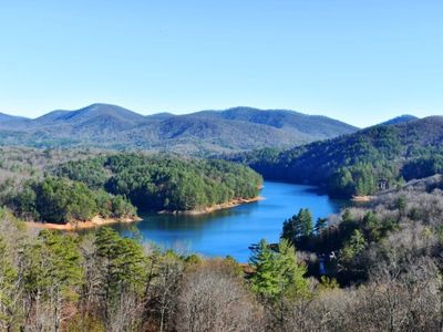 Photo for Stunning Lake View, The home sits above Lake Blue Ridge