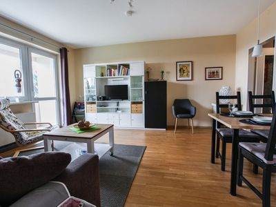"""Photo for Seaside Apartment """"Deichblick"""" with Balcony & Wi-Fi; Parking Available"""