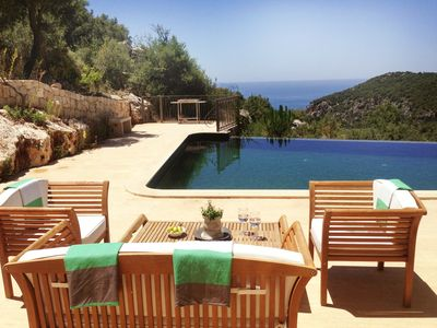 Photo for Large, Elegant Villa: Forest, Sea Views, Private Pool