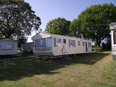Photo for Privately owned static caravan at St Helens Holiday Park, sleeps 6/8