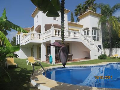 Photo for Villa with Private Pool, Mountain and Golf  View