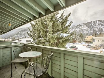 Chalet River Run Day Lodge, Ketchum, Idaho, Stati Uniti d'America