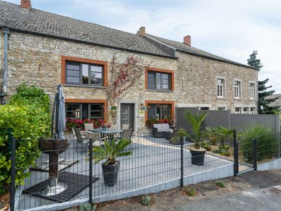 Photo for Spacious Holiday Home With Fireplace in Doische Belgium