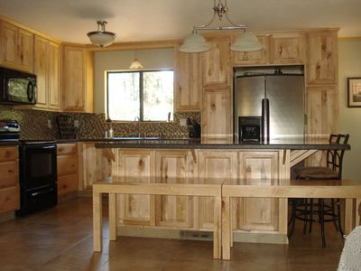 Photo for WiFi! Cable - Newly Remodeled 3Br 2Ba Cabin - Ponderosa Pine Trees in Pine, AZ