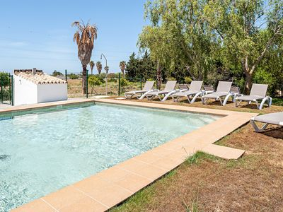 Photo for In charming country house with pool - Apartamento La Jandeta 8