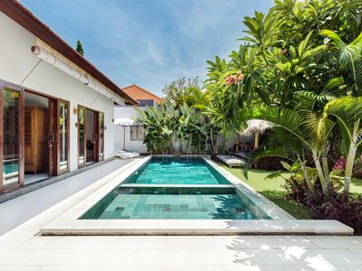 Photo for 3BR Private Villa Seminyak with Huge Pool and Central Location