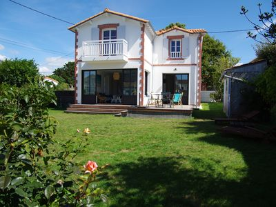 Photo for Restored house in the heart of the village and 150m from the beaches and shops