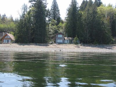 house on the right, from the sea