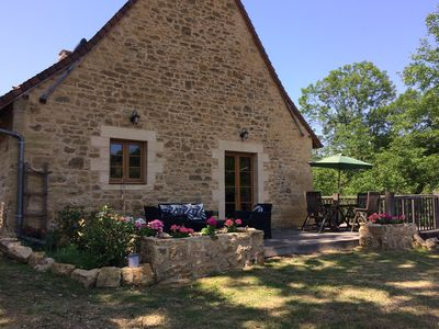 Photo for Walnut Barn Charming Self Catering property & pool, ideal for families & couples